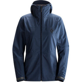 Black Diamond W's Liquid Point Shell Jacket Captain